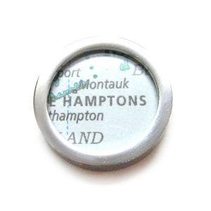 The Hamptons Map Pendant Magnet